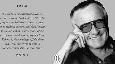 Marvel教父Stan Lee逝世 終年95歲
