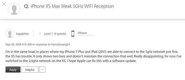 Iphone Xs Cellular Wi Fi Performance Issue Img 1