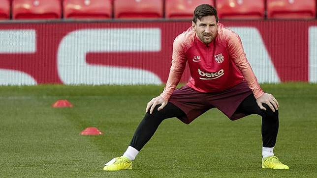 Latihan Manchester United Vs Barcelona