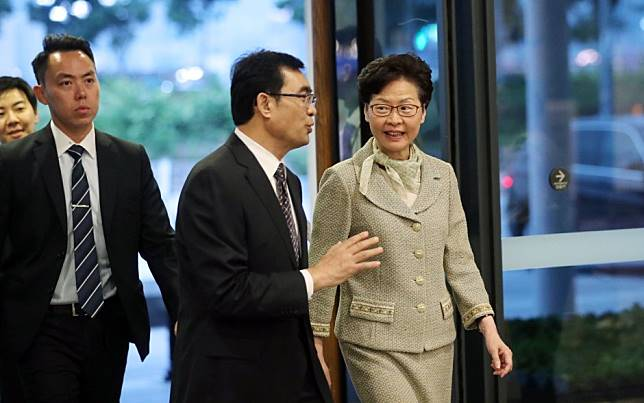 Hong Kong leader Carrie Lam readies for first Community Dialogue session, but 'focus will be on clashes outside the venue'