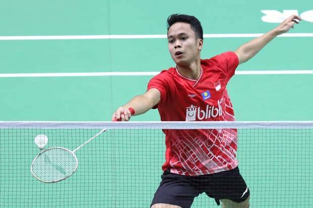 Anthony Lengkapi 10 Wakil Indonesia di Babak Kedua China Open