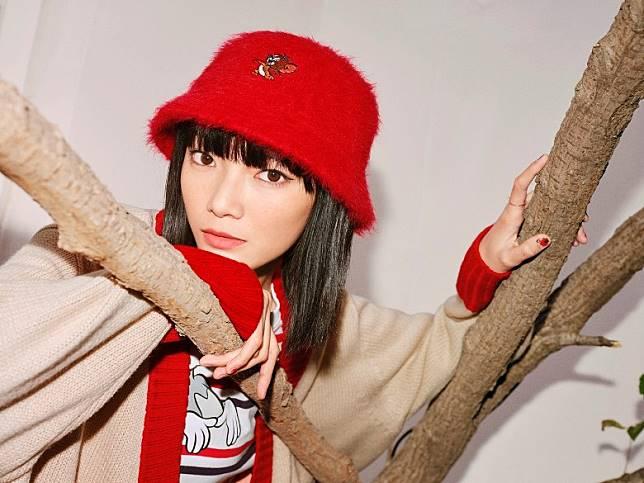 紅色漁夫帽是潮人熱選。(互聯網)
