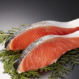 銀鮭切身 解凍養殖