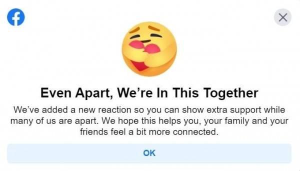 Facebook Punya Emoticon Reaksi Baru Yaitu Peduli Sudah Coba Belum