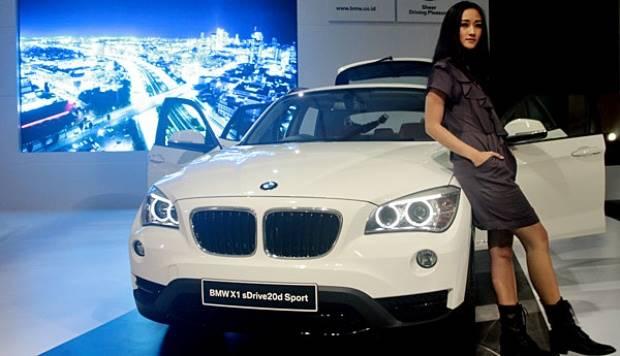 BMW X1 sDrive20d. ANTARA/Dhoni Setiawan