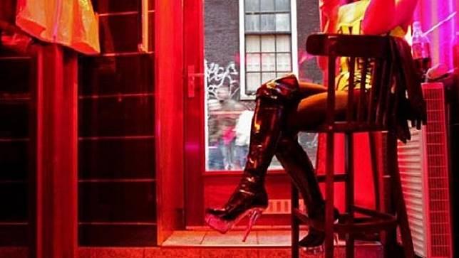 Ilustrasi Prostitusi (ANOEK DE GROOT AFP)