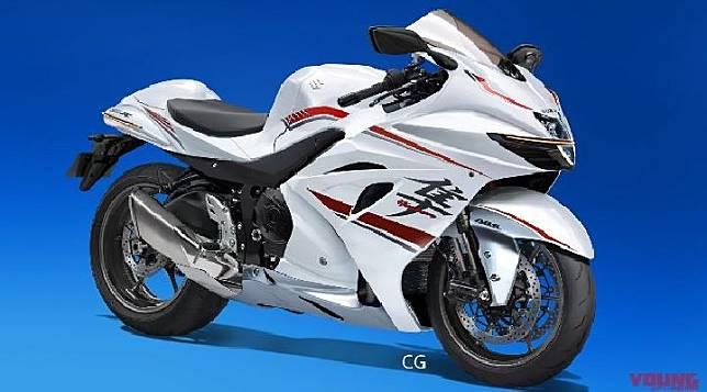 Render Suzuki Hayabusa. Sumber: young-machine.com