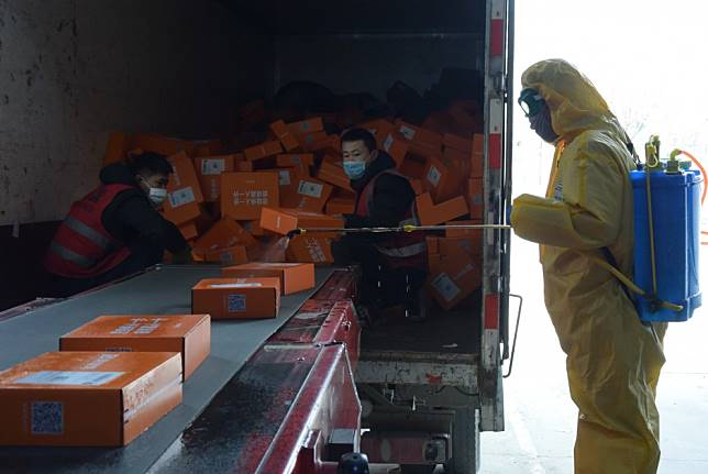 Coronavirus: China's courier sector braces for losses as outbreak snarls supply chains