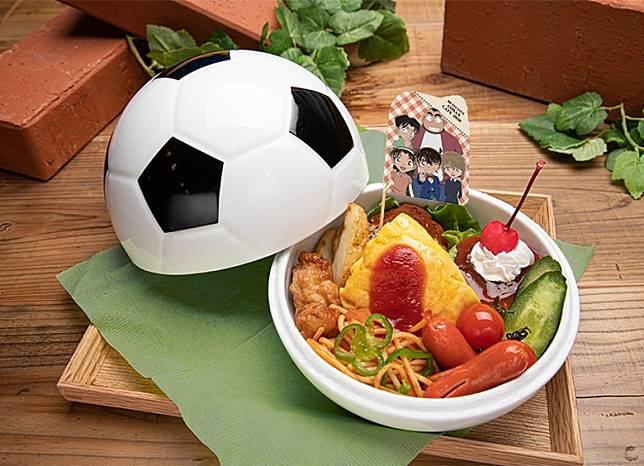 令人興奮的少年偵探團兒童餐。售1,690日圓(約HK$120)(互聯網)