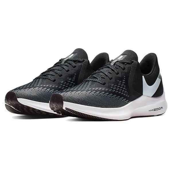 【NIKE】WMNS NIKE ZOOM WINFLO 6 慢跑鞋 運動鞋 黑 女鞋 -AQ8228003