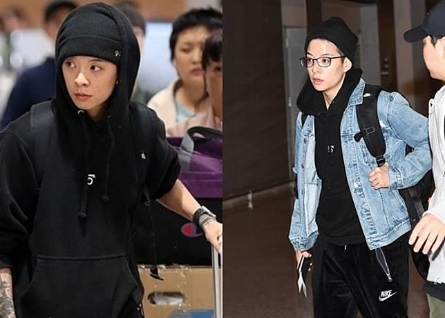 上周由海外趕返韓國的Amber,送別Sulli後,於今日由首爾啟程前往美國。