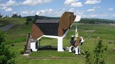 美國愛達荷州竟然有四隻腳的房屋!?