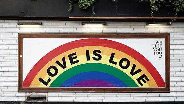 Ilustrasi LGBT. Sumber foto: unsplash.com/Yoav Hornung.