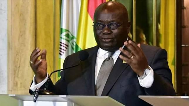 Presiden Ghana Nana Akufo Addo (AFP).