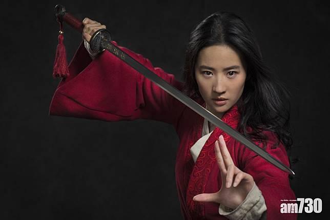 《花木蘭》下月上映 劉亦菲首度回應撐警言論