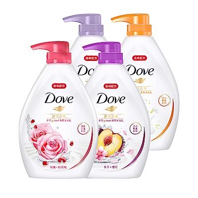 全新清爽配方 質地更加清透空氣感輕盈泡泡 輕鬆沖洗添加多芬獨家親膚保濕精華液