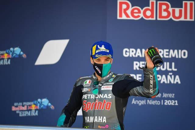 Sabet Podium di Jerez, Franco Morbidelli: Terima Kasih Petronas Yamaha SRT!