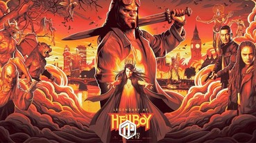 《Hellboy: Rise of the Blood Queen》最新海報,全體角色登場!