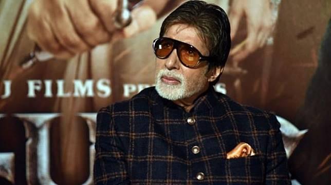 Amitabh Bachchan (Sujir Jaiswal / AFP)
