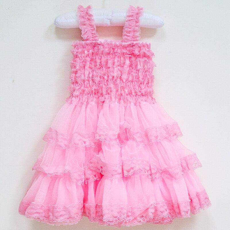 【hella 媽咪寶貝】美國Chic Baby Rose手工雪紡洋裝_淡粉