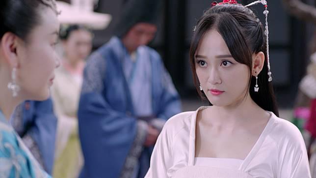 陳喬恩在《獨孤皇后》中少女時期演起,凍齡美貌驚人。
