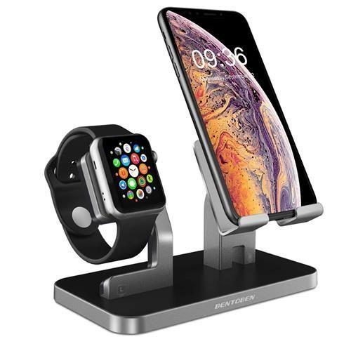BENTOBEN手機支架相容Apple Watch iPhone iPad平板電腦 太空灰