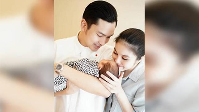 Sandra Dewi memamerkan kelahiran putranya kedua. foto/instagram/sandradewi88