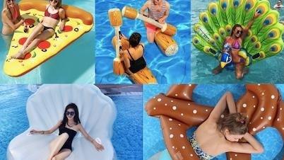 夏季IG打卡必備!絕對制霸海邊的【水上拍照道具】一次看!