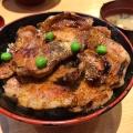 豚丼 - 実際訪問したユーザーが直接撮影して投稿した西2条南丼もの豚丼のぶたはげ 本店の写真のメニュー情報