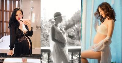 Xếp hạng độ gợi cảm của 5 hot mom: Càng bầu càng da trắng dáng thon, bà xã Tuấn Hưng là nhất