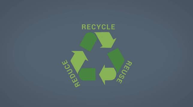 Reuse, Reduce, Recycle!!!