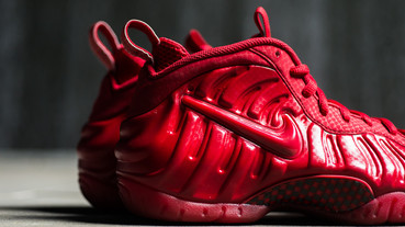 新聞速報 / Nike Air Foamposite Pro 'Gym Red'