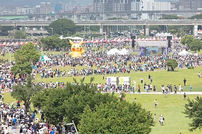 Image result for 新北市大都會公園Safari Zone四天超過32萬7千名訓練家造訪!