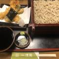 天せいろ - 実際訪問したユーザーが直接撮影して投稿した西新宿そば手打蕎麦 渡邊の写真のメニュー情報