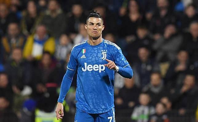Pemain Juventus, Cristiano Ronaldo. Reuters
