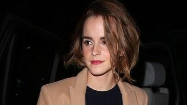 艾瑪華森剪了新的短髮 25 歲的妙麗越來越有型!