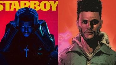 歌手 The Weekend 專輯同名漫畫《Starboy》涉嫌抄襲?原著漫畫家提出侵權告訴!