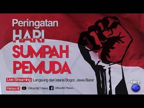 Live Peringatan Sumpah Pemuda Di Istana Bogor