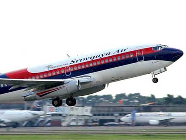 Pesawat Sriwijaya Air. Foto: Sriwijaya.