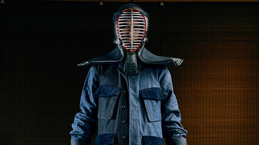 劍道入魂 SYNDRO for plain-me 系列 主理人腦哥:「菱格紋的刺子繡就像劍道盔甲」