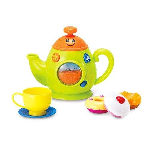 家家酒玩具✖聲光效果,WinFun給寶寶不一樣的感官刺激!。透過家家酒遊戲,培養口語表達、人際互動,準備一桌美味料理!。3合一學習烹煮鍋》形狀鍋蓋玩配對、簡單英文句+旋律+煮沸聲效,增加家家酒的學習趣