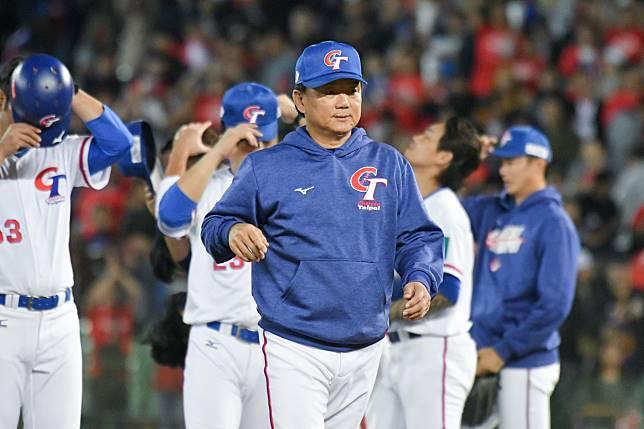 ▲世界棒球12強中華隊總教練洪一中。(圖/記者葉政勳攝
