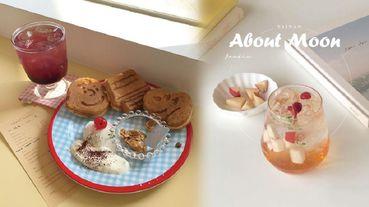 snoopy、萊恩鬆餅輪番上陣,可愛程度最高級!台南韓系咖啡廳about moon cafe讓你一次拍100張美照都不嫌多!
