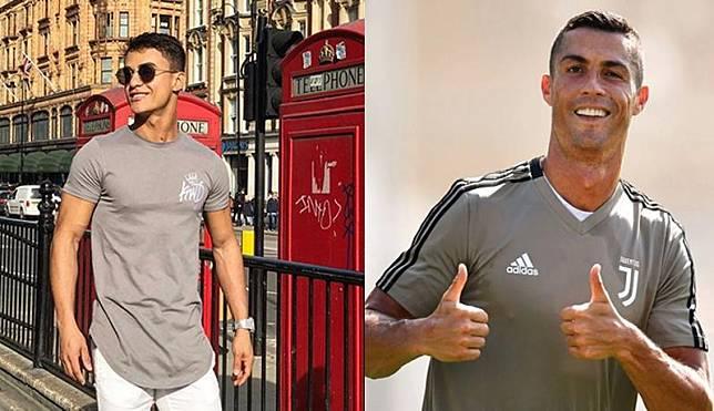 Sosok Paulo Roberto sedang menjadi perbincangan di dunia maya. Dia mendadak populer karena wajahnya dianggap mirip Cristiano Ronaldo. (Foto: Ist)