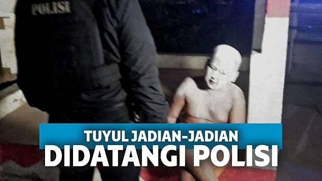 Polisi Tangkap Tuyul Jadi-jadian yang Hebohkan Warga Depok