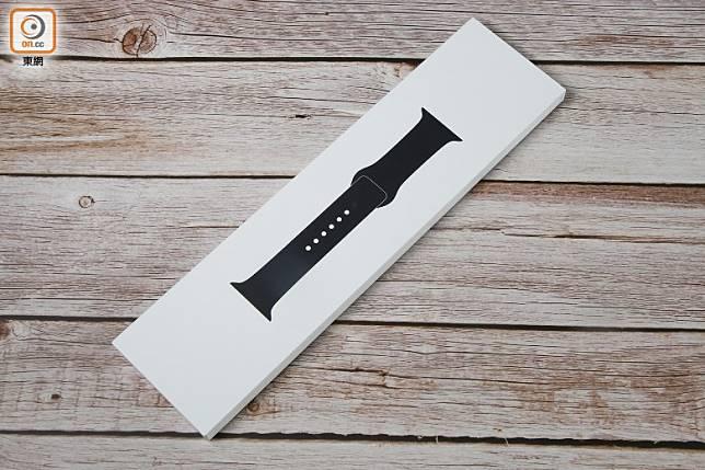 錶帶採獨立包裝設計。(莫文俊攝)