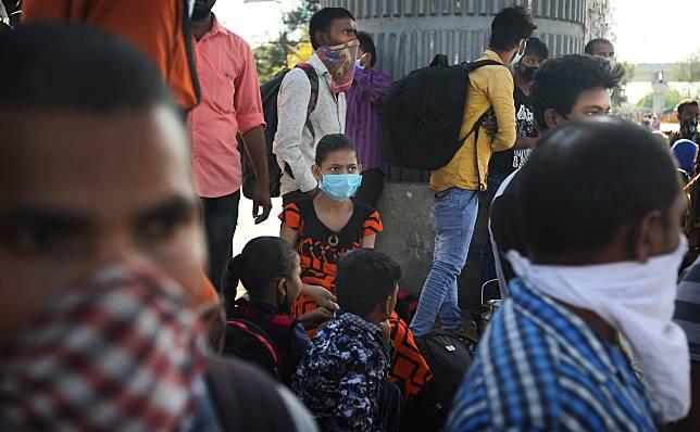▲印度近日也深受新冠肺炎疫情威脅。(圖/美聯社/達志影像)