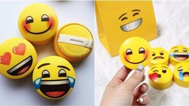 Innisfree 驚喜推出限量「Emoji 版蜜粉」!網友:狂成這樣能不買嗎