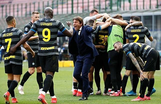 Inter Milan Rebut Scudetto, Conte Lega Sudah Bisa Tidur Nyenyak