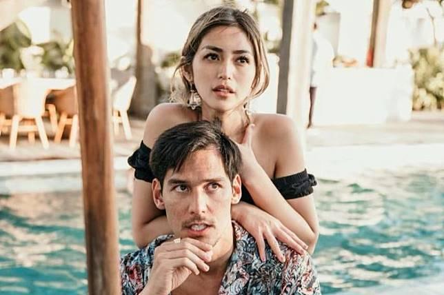 Tutup Telinga dengan Segala Berita Video Panas Kekasihnya, Jessica Iskandar Posting Pesan Romantis untuk Richard Kyle